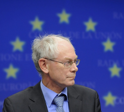 Herman Van Rompuy (Photo: Novinite)