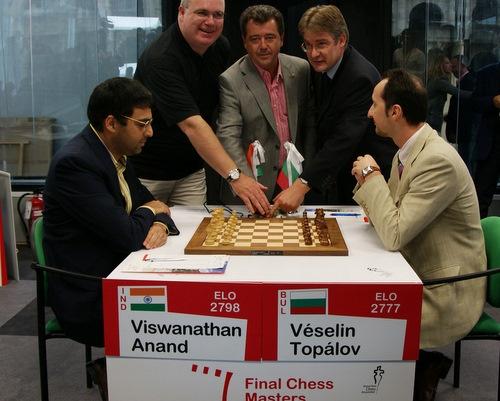 Bulgaria, FIDE Sign Anand - Topalov World Chess Match Contract in December: Bulgaria, FIDE Sign World Chess Title Match Contract in December