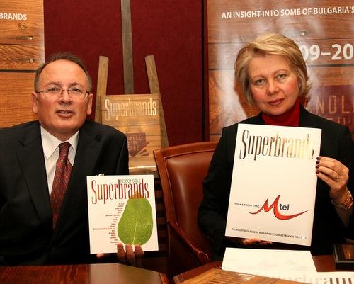 Bulgaria: Coca-Cola, M-Tel Named Top Consumer Superbrands in Bulgaria