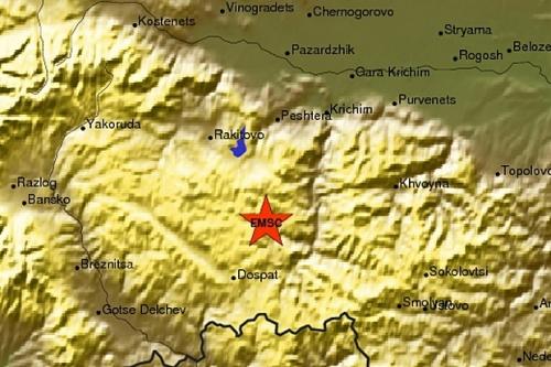 Light Earthquake Shakes South Bulgaria: Light Earthquake Shakes South Bulgaria