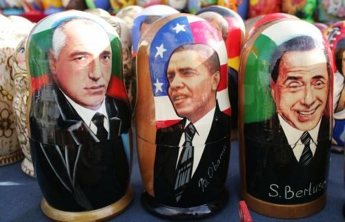 Bulgaria: Russian-Made Matryoshka Dolls of Borisov Hit Stalls in Bulgaria