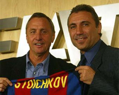 Bulgaria's Stoichkov  - Netherlands' Cruyff: A Fiery Relationship Made in Heaven: Stoichkov-Cruyff: A Fiery Relationship Made in Heaven
