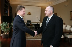 Bulgaria PM Meets Russian Gazprom Head over South Stream: Gazprom  Head Agrees to Direct Bulgaria Gas Supply Contracts