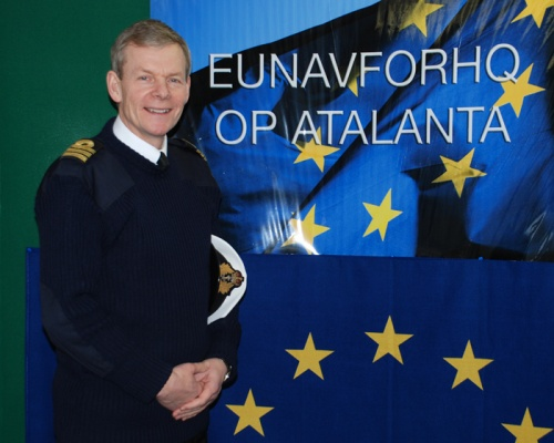Bulgaria: EU NAVFOR Spokesman John Harbour: Somali Pirate Issue to Be Solved by Stabilization on the Ground