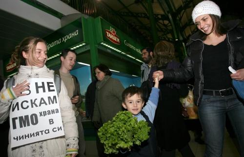 Bulgaria: People around Bulgaria Rise in Protest against GMO