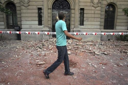 Bulgaria: 6,1-Magnitude Aftershock Quake Strikes off Chile's Coast