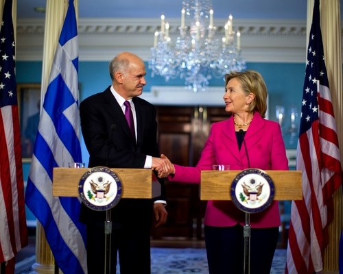 Bulgaria: Clinton: Greece Did Not Ask US for Economic Aid