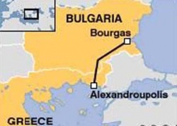Bulgaria: Russians Blame Delay of Oil Pipeline on Bulgarian Debt