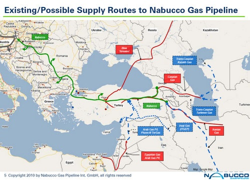 Bulgaria: Nabucco Starts Procuring Pipeline Construction Supplies