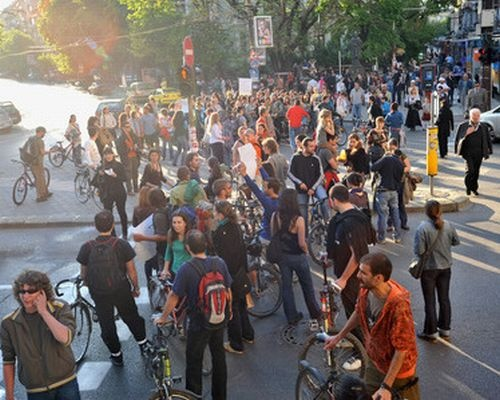 Bulgaria: Eco Protesters Flood Downtown Sofia over Court Ruling