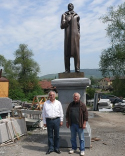 Bulgaria: Monument of Bulgarian Writer Ivan Vazov on Its Way to Rome