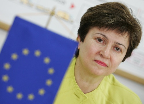 Kristalina Georgieva, EU Commissioner for Humanitarian Aid, International Cooperation and Crisis Response (Photo: BGNES)