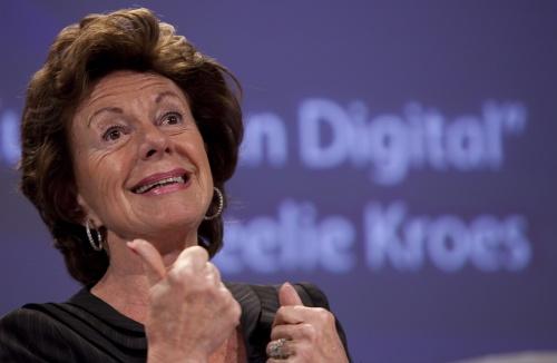 Bulgaria: Open Letter to Digital Agenda Commissioner Neelie Kroes