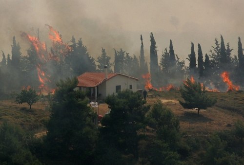 Bulgaria: Greece Wildfire Restrained - Report