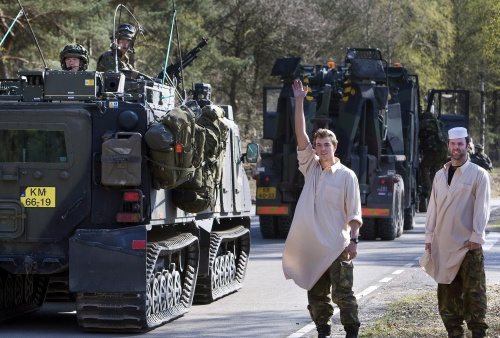 Bulgaria: Dutch Troops Leave Afghanistan