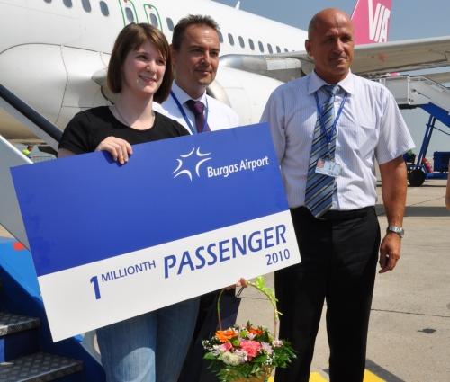 Bulgaria: Bulgaria's Burgas Airport Welcomes Millionth Passenger