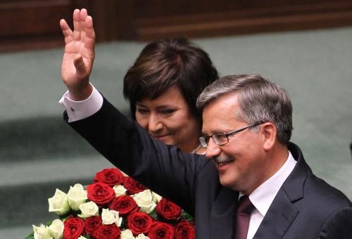 Bulgaria: Komorowski Inaugurated as President of Poland