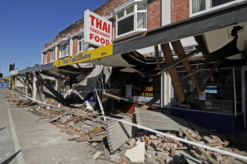 earthquake in new zealand 2010. Powerful Earthquake Rattles