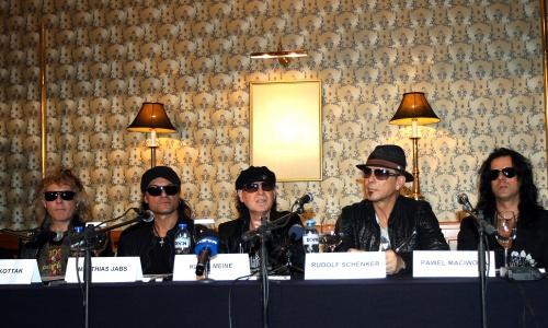 Bulgaria: Scorpions Say Goodbye to Bulgarian Fans
