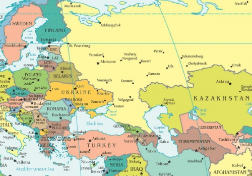 sofia on map of europe ERBD Expects Faster Growth for Eastern Europe, Bulgaria   Novinite