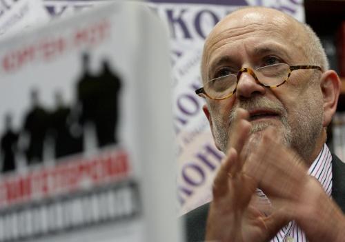 Bulgaria: Jurgen Roth: Ex Interior Minister Protected Bulgarian Mafia