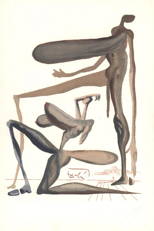 Bulgaria: Salvador Dali's Illustrations Start World Tour from Bulgaria
