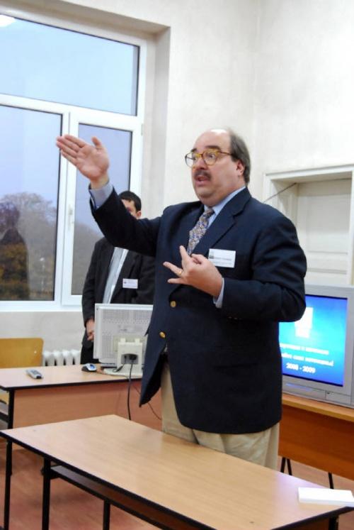 Bulgaria: AUBG Professor Phelps Hawkins: I Want to Come 'Home' to Bulgaria Every Year
