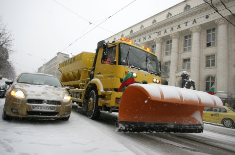 Bulgaria: Bulgaria's Roads Passable in Winter Conditions