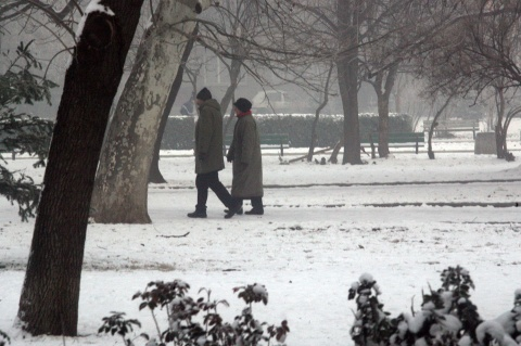 Bulgaria: Bulgaria Covered in Thin Snow, Expects Warmer Period