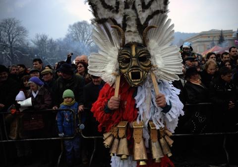 Bulgaria: Go Away Evil Spirits, the Kukeri Said