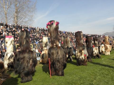 Bulgaria: 2000 Mummers Gather for Kukeri Festival in Southwest Bulgaria