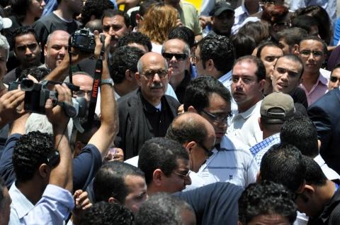 Bulgaria: Egypt Opposition Backs El Baradei to Negotiate with Mubarak