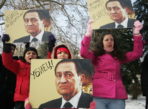 Bulgaria: Egyptians Support Compatriots, Protest in Bulgaria