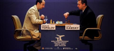 Bulgaria: Bulgarian Chess Star Topalov to Start New World Champion Bid Against Kamsky