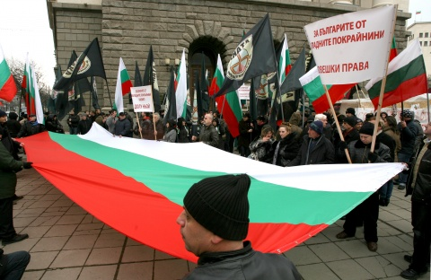 Bulgaria: Borisov Shields Serbian PM from Bulgarian Protesters