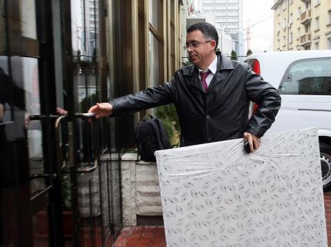 Bulgaria: Line of Birthday Gifts Awaits Bulgaria's Ethnic Turkish Leader