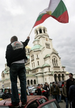 Bulgaria: Bulgarian Protesters Blockade Downtown Sofia over Rising Fuel Prices