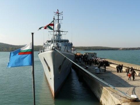 Bulgaria Inspects Frigate before Joining NATO in Libya: Bulgaria Inspects Frigate before Joining NATO in Libya