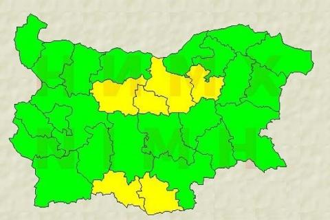 6 Bulgarian Regions under Code Yellow over Downpours: 6 Bulgarian Regions under Code Yellow over Downpours