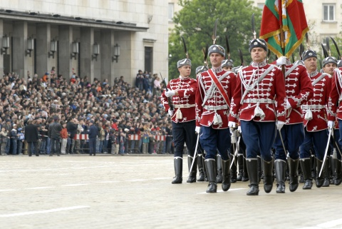 No Rain on Bulgarian Army Parade: No Rain on Bulgarian Army Parade