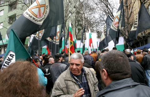 Bulgarian Nationalists Mar Batak Martyrs Commemoration: Bulgarian Nationalists Mar Batak Martyrs Commemoration