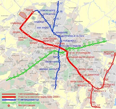 Sofia Subway Map.Bulgarian Capital At Crossroads Over 3rd Sofia Metro Line Novinite