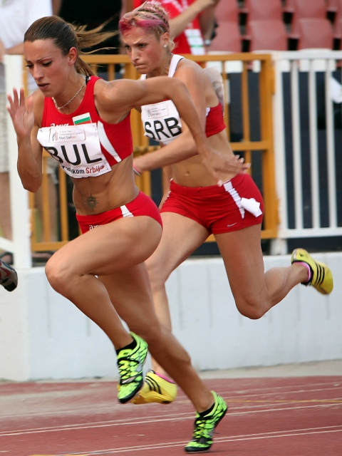 Bulgaria: Bulgarian Sprinter Ivet Lalova Shows Great Form in Novi Sad