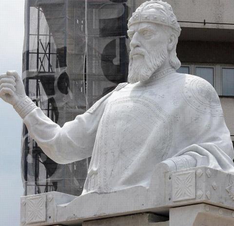 Bulgaria: Macedonia Erects Monument of Great Bulgarian Tsar Samuil