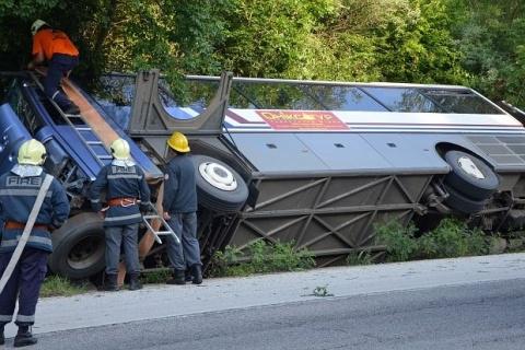 Bulgaria: Ukrainian Woman Dies after Bus Crash in Bulgaria