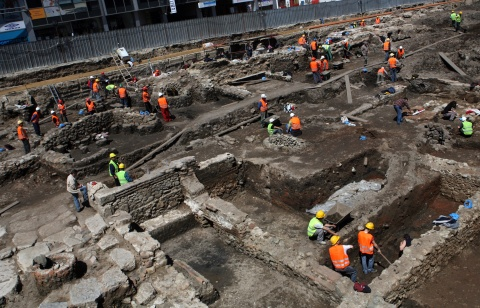 Bulgaria: Bulgarian Archaeologists Uncover Christian Complex during Sofia Metro Construction
