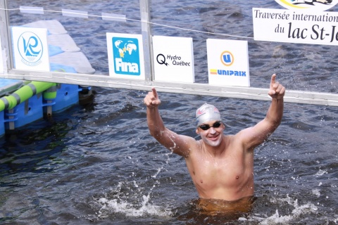 Bulgaria: Bulgaria's Best Swimmer Petar Stoychev - King of the Lac
