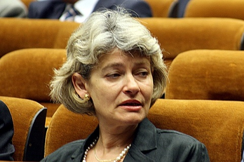 Bulgarian UNESCO Director General Condemns NATO Attack on Libyan TV: Bulgarian UNESCO Head Condemns NATO Attack on Libyan TV