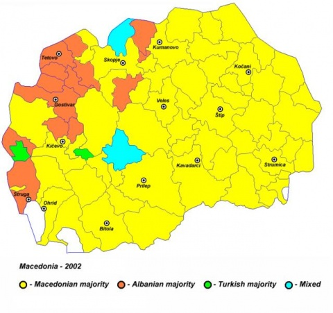 Bulgaria: 2001-Type Violence Unlikely But Macedonia's Ethnic ...