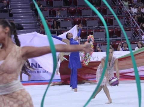 Bulgaria: Bulgaria Stage Gold Showing at Rhythmic Gymnastics World Cup